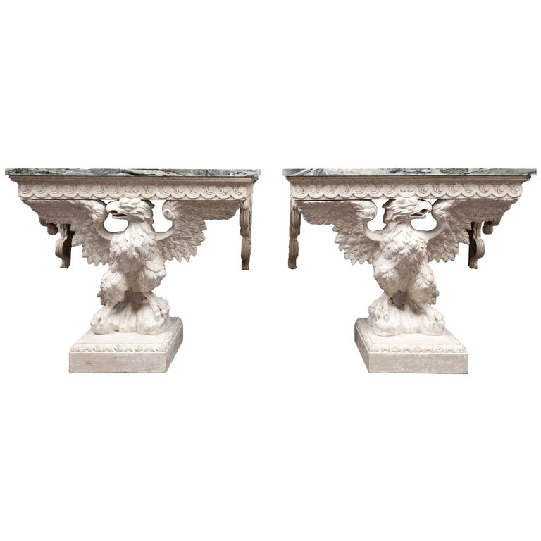 Pair Console Tables For Sale