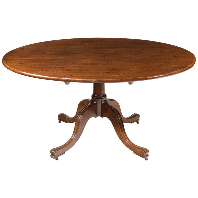 George III Oval Breakfast Table by Gillow