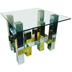 Paul Evans City Scape Dining Table Base