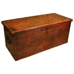 William and Mary Solid Elm Bed Box