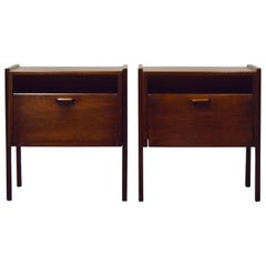 Pair of Jens Risom Nightstands or End Tables
