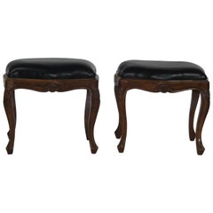 Pair of Louis XV Style Bench