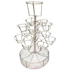 French Wirework Bar Stand For Boiled Eggs