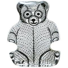 Abraham Palatnik Lucite Teddy Bear Sculpture, 1960