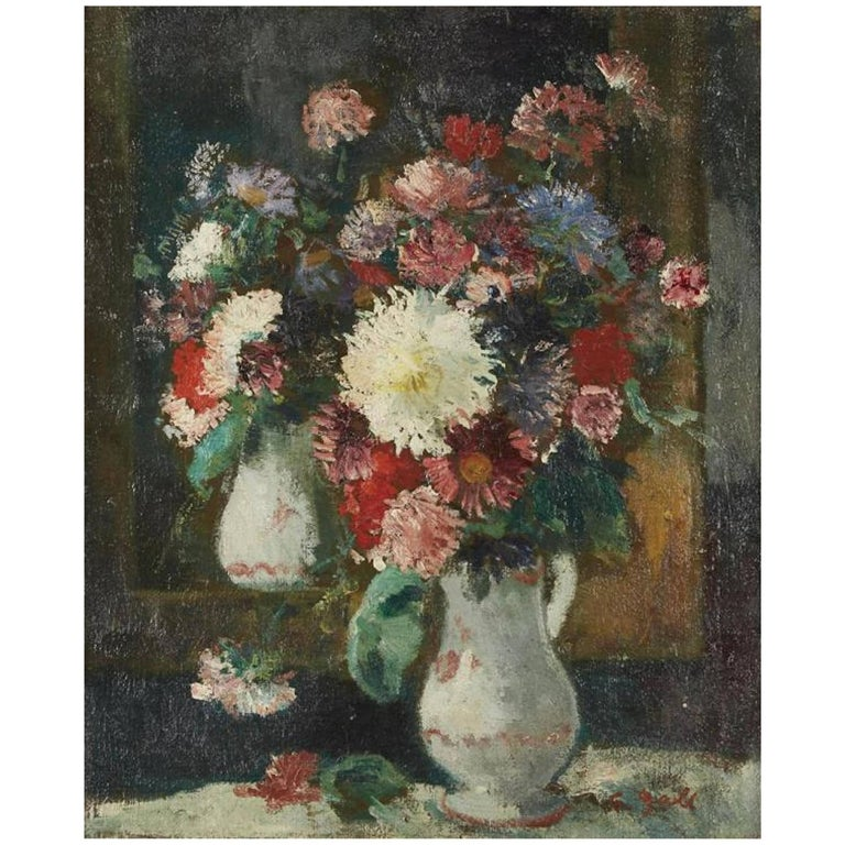 """""""Still Life of Flowers"""" by François Gall"""