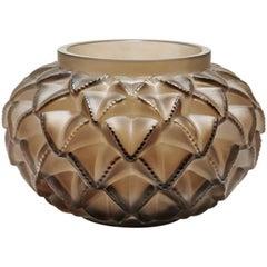 Lalique Languedoc Grand Vase Bronze Crystal Limited Edition 99 Ex