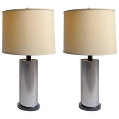 Pair of Custom Welded Steel Cylinder