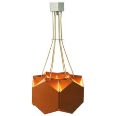 Very Unique Chandelier by Ole Panton for Lyfa of Denmark, Mid-1960s