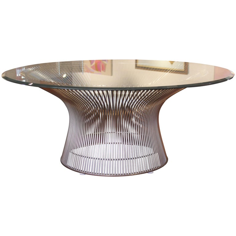 Modern Warren Platner For Knoll Coffee Table Base For Sale At 1stdibs