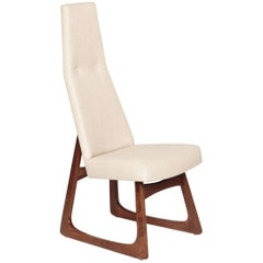 Midcentury Tall Back Chair by Adrian Pearsall