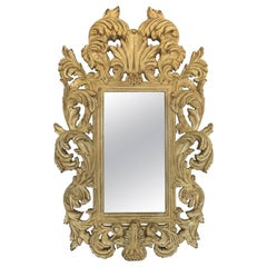 French Provincial Rococo Style Wall Mirror
