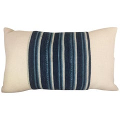 Handwoven African Textile from Mali Pillow #4