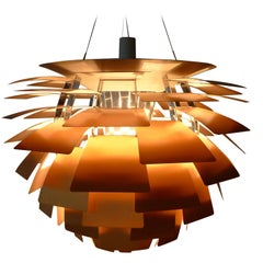 Poul Henningsen Large Artichoke Lamp, Louis Poulsen, Denmark, 1970s