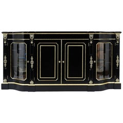 Louis XVI Style Ebonized Buffet