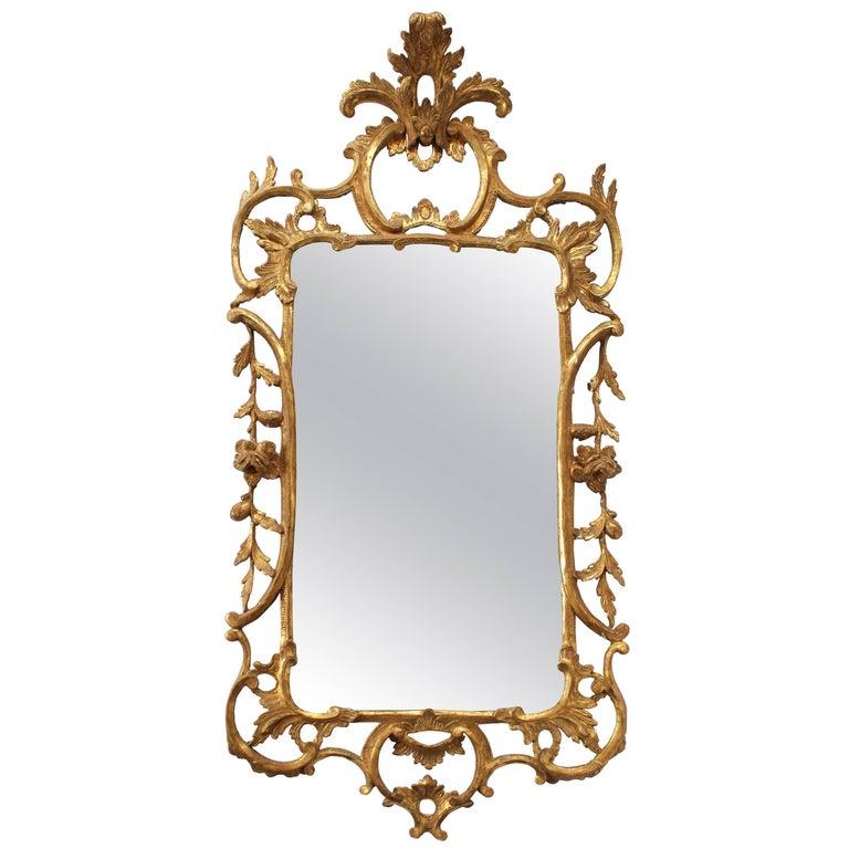 George III Style Giltwood Mirror