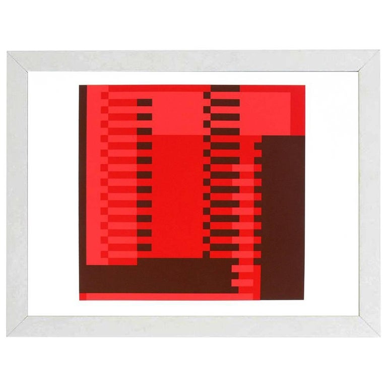 Abstract Lithograph by Josef Albers from Formulation and Articulation For Sale