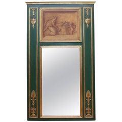 Neoclassical  Trumeau Mirror