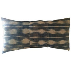 Handwoven African Textile from Mali Pillow #13