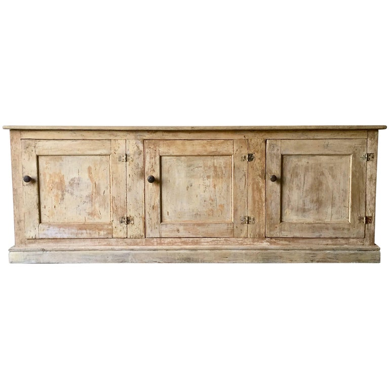 19th Century Italian Painted Sideboard For Sale