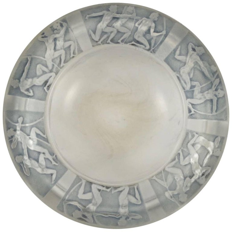 "René Lalique Cendrier ""Archers"" Ashtray For Sale"