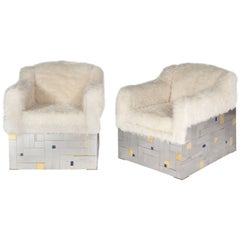 Pair of Armchairs by Stan Usel