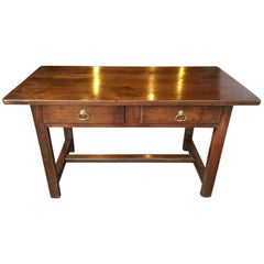 Early 19th Century French Two Drawer Serving / Side Table, circa 1810