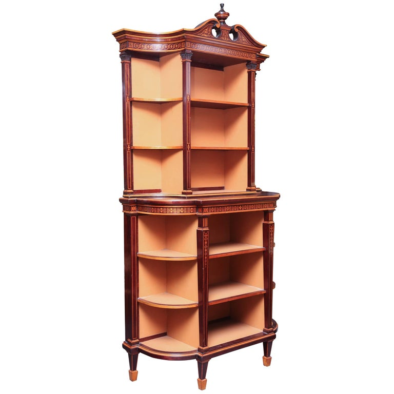 Superb Regency Display Cabinet 1