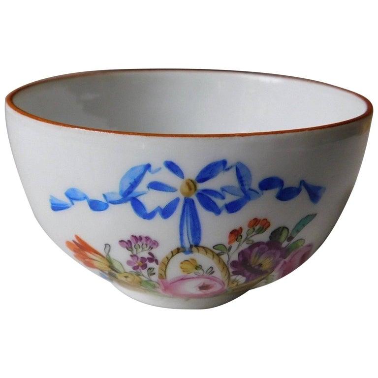 Antique 18th Century Meissen Porcelain Cup For Sale