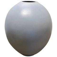 Monumental Architectural Pottery Marilyn Kay Austin Pot Egg Shape Planter