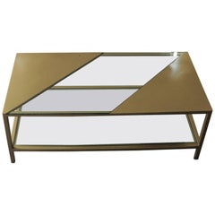 Parallel Metal Coffee Table