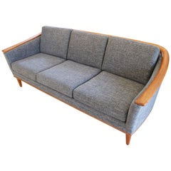 Mid-Century Modern Sofa with New Foam and Upholstery, circa 1960