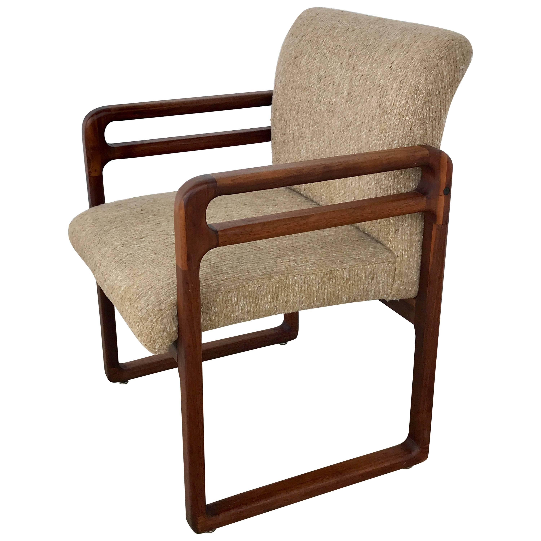 Good Danish Modern Teak Arm Or Desk Chair Frame