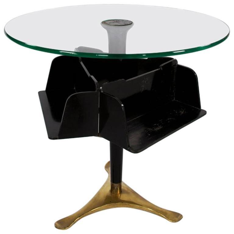 Paolo Buffa Coffee Table, 1940s, Italy