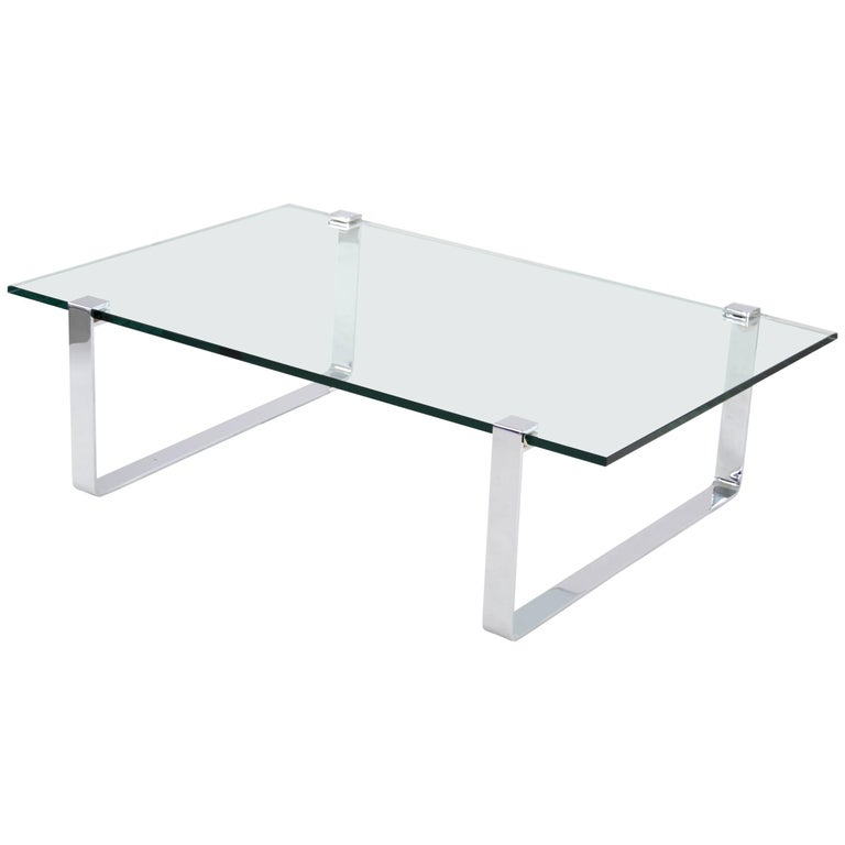 Rectangular Ronald Schmitt Coffee Table Designed, Friedrich Wilhelm Möller 1970s