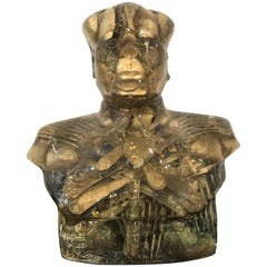 Mao Bust with Cutlery