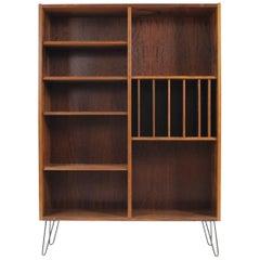 Poul Hundevad Midcentury Danish Palisander Bookcase