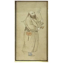 17th Century Iranian Dervish Painting