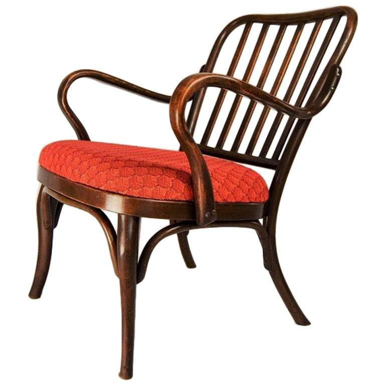 Antique Armchair No. 752 by Josef Frank for Thonet, 1920s
