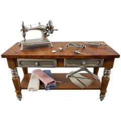 "20th Century Silver Miniature ""Tailor"" Workbench"