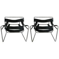 Marcel Breuer Chairs, circa 1980