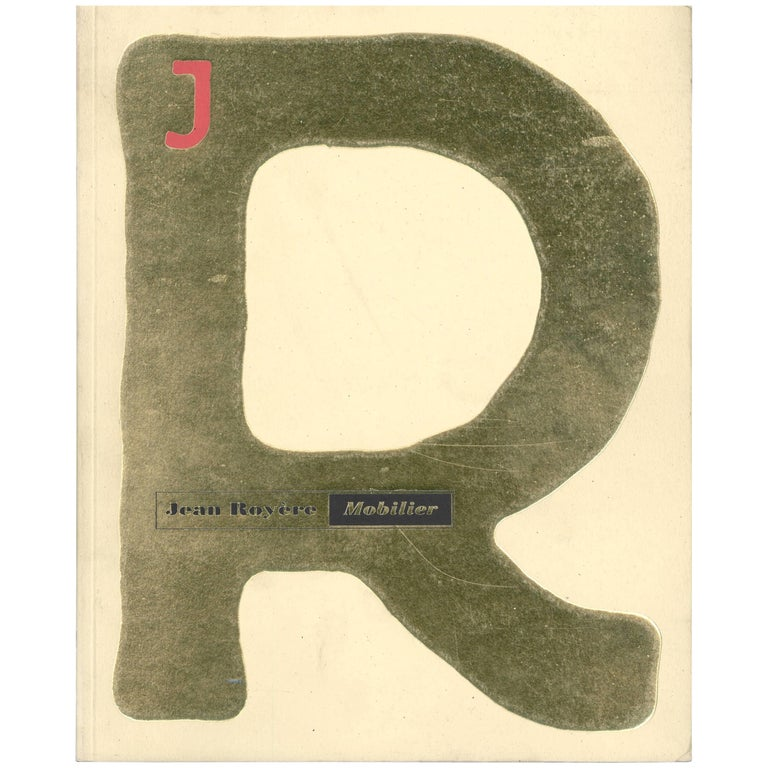 """""""Jean Royere - Mobilier"""" Book"""