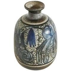 Bing & Grondahl Unique Stoneware Vase by Cathinka Olsen #680