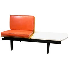 George Nelson Steel Frame Single Sofa Bench Seating
