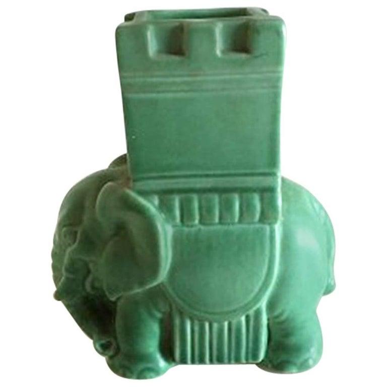 Bing & Grondahl Stoneware Figurine of Elephant #2125/G