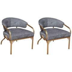 Pair of Van Koert Lounge Chairs