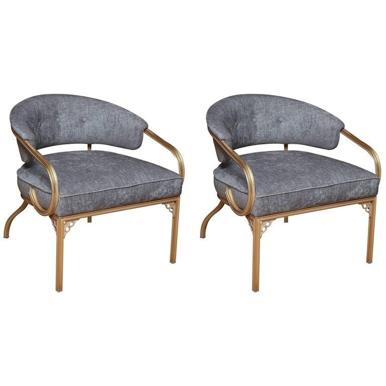 Pair of Van Koert Lounge Chairs For Sale