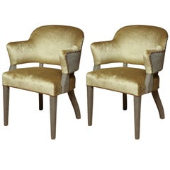 Pair of Deco Armchairs