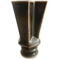 Bing & Grondahl Stoneware Vase #5818 by Lisa Enquist