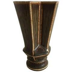 Bing & Grondahl Lisa Enquist Stoneware Vase #3