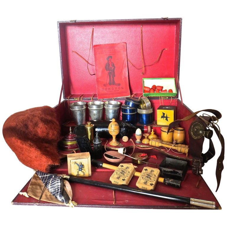 """Physique"" Magic Box 'Magician's Props' French, circa 1880"